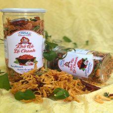 Khô gà Lá Chanh Mi Sa hộp 250 gram
