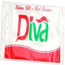 Khăn ướt lưới đơn thương hiệu Diva-KULUOI