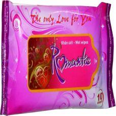 Khăn ướt thương hiệu Romantic gói 10 miếng-KU10
