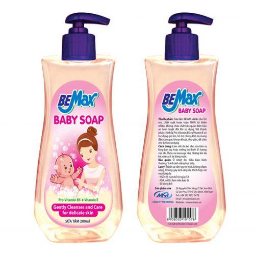 Sữa tắm Bemax dành cho bé 200ml-STBMAX200