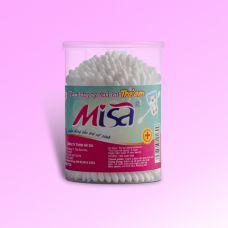 Tăm bông vệ sinh tai dành cho bé thương hiệu MiSa 125 que nhựa-MSN125B