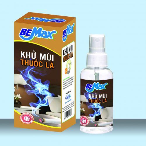 Xịt phòng thương hiệu Bemax khử mùi thuốc lá giúp bảo vệ sức khỏe người thân-XPLA100